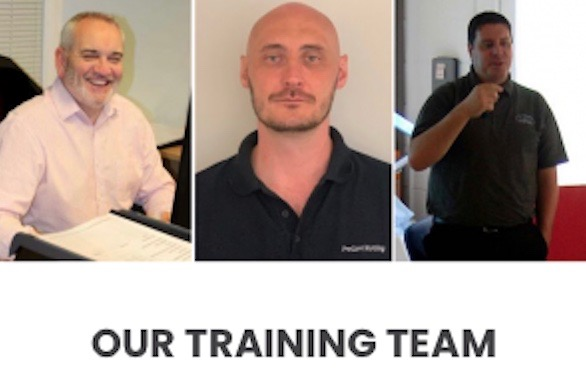 Meet Our Experienced Team Running our Training Courses